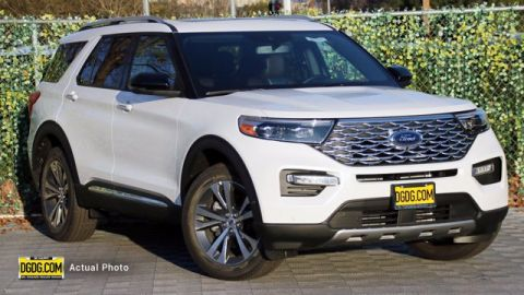 New 2020 Ford Explorer Platinum 4WD 4D Sport Utility