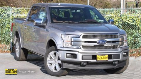 New 2020 Ford F-150 Platinum 4WD 4D SuperCrew