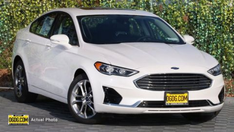 New 2020 Ford Fusion SEL FWD 4D Sedan