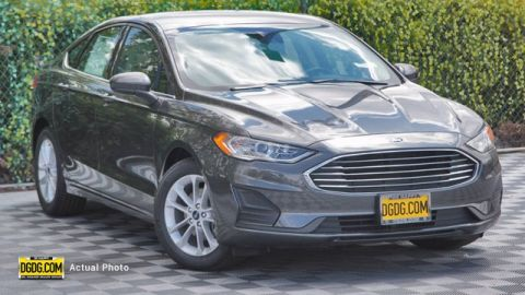 New 2020 Ford Fusion SE FWD 4D Sedan