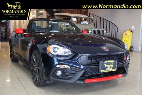 New 2019 FIAT 124 Spider Abarth RWD Convertible