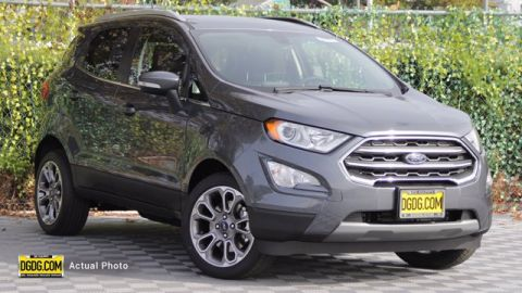New 2020 Ford EcoSport Titanium FWD 4D Sport Utility